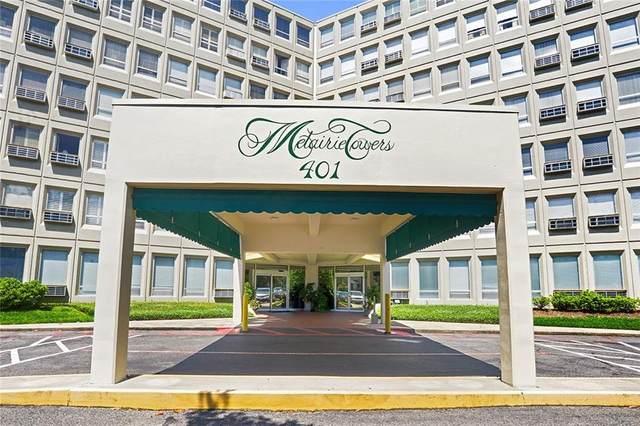401 Metairie Road #504, Metairie, LA 70005 (MLS #2289918) :: Turner Real Estate Group