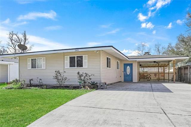 265 Sun Valley Drive, Slidell, LA 70458 (MLS #2290702) :: The Puckett Team