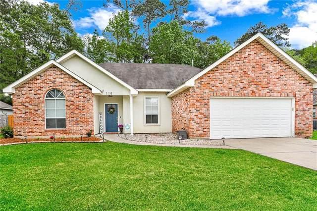 116 Golden Meadow Drive, Covington, LA 70433 (MLS #2295362) :: Turner Real Estate Group