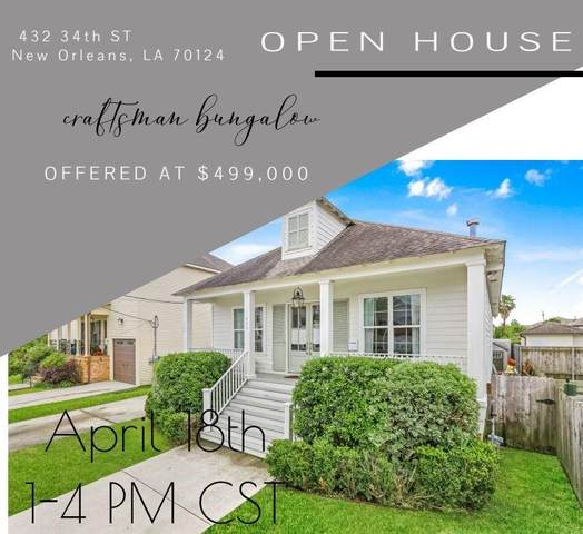 432 34TH Street, New Orleans, LA 70124 (MLS #2295747) :: Crescent City Living LLC