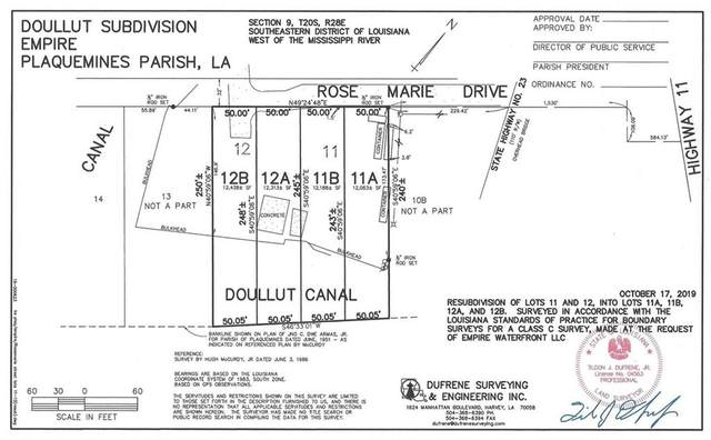 Lot 11A On Rosemarie Drive, Buras, LA 70041 (MLS #2296604) :: Reese & Co. Real Estate