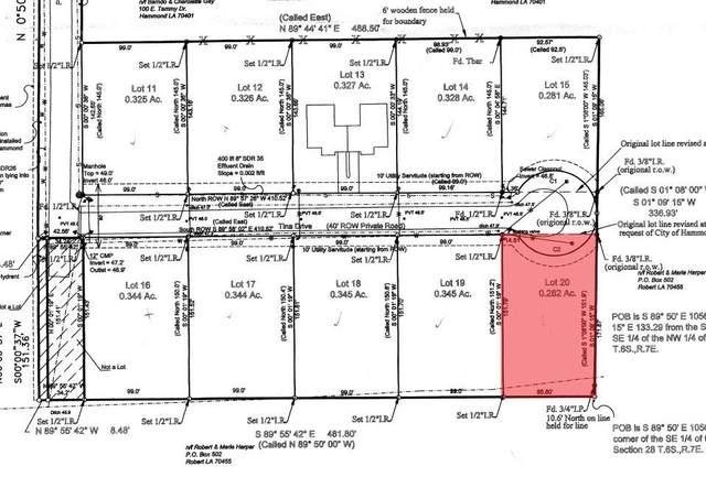 108 Tina Drive, Hammond, LA 70403 (MLS #2302839) :: Satsuma Realtors