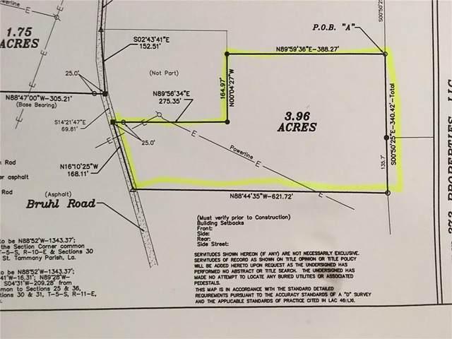 TBD Bruhl Road, Folsom, LA 70437 (MLS #2305904) :: Turner Real Estate Group