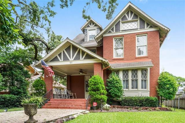 41 Fontainebleau Drive, New Orleans, LA 70125 (MLS #2313859) :: Freret Realty