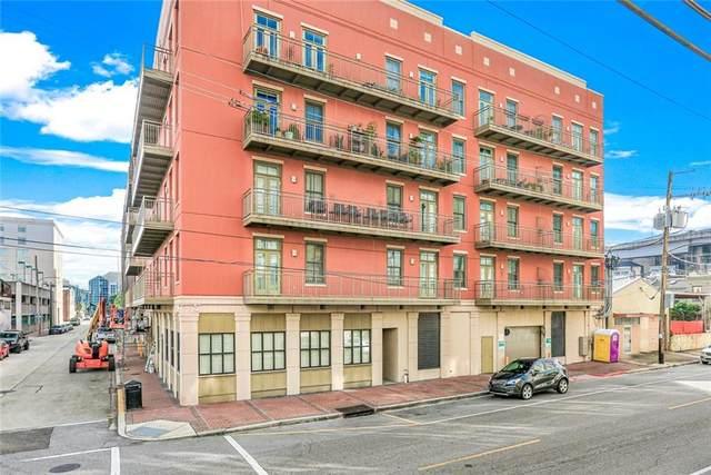 450 John Churchill Chase Street #307, New Orleans, LA 70130 (MLS #2319564) :: Amanda Miller Realty