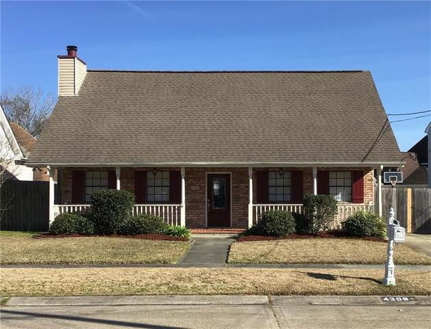 4308 Iowa Avenue, Kenner, LA 70065 (MLS #2282831) :: The Sibley Group