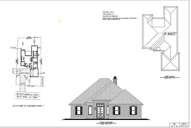103 Wild Magnolia Circle, Belle Chasse, LA 70037 (MLS #2294189) :: Turner Real Estate Group