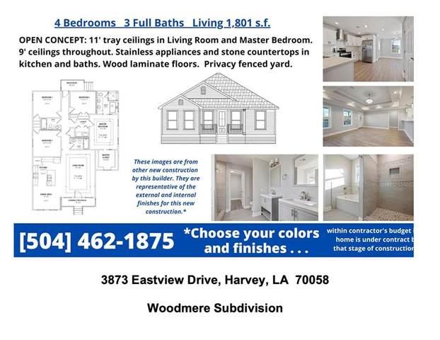 3873 Eastview Drive, Harvey, LA 70058 (MLS #2307910) :: Turner Real Estate Group