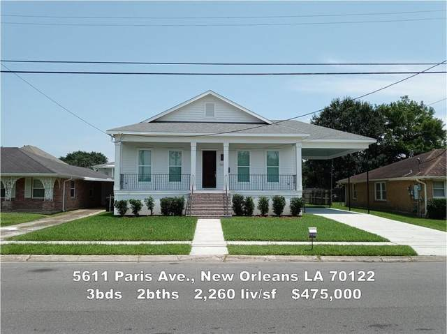 5611 Paris Avenue, New Orleans, LA 70122 (MLS #2295115) :: Freret Realty