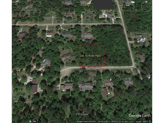 Lot 13 River Park Drive, Covington, LA 70433 (MLS #2098382) :: Turner Real Estate Group