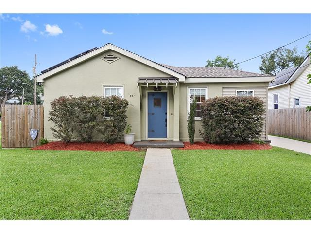 407 Kenilworth Street, New Orleans, LA 70124 (MLS #2110916) :: Crescent City Living LLC