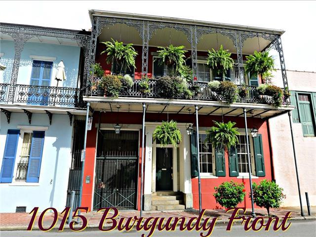 1015 Burgundy Street #6, New Orleans, LA 70116 (MLS #2119576) :: Crescent City Living LLC