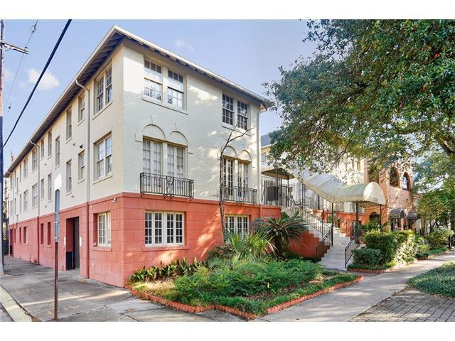 4239 St Charles Avenue F, New Orleans, LA 70115 (MLS #2127783) :: Crescent City Living LLC