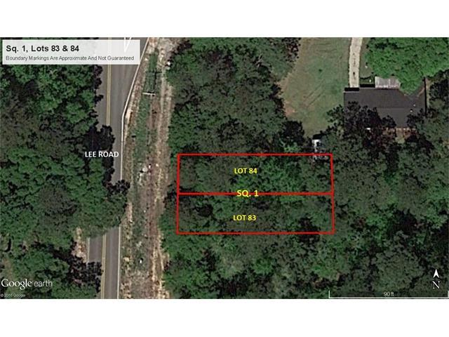Lot 83 & 84 Lee Road, Covington, LA 70433 (MLS #2131576) :: Turner Real Estate Group