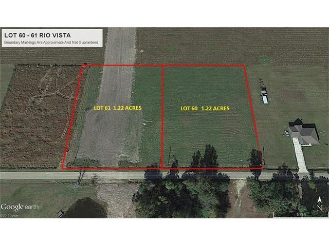 Lot 61 Sam Mizell Road, Bogalusa, LA 70427 (MLS #2131593) :: Turner Real Estate Group