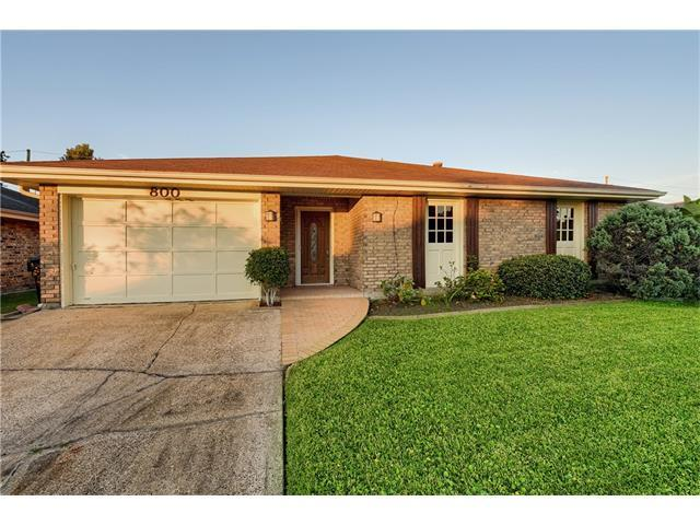800 St Julien Drive, Kenner, LA 70065 (MLS #2132351) :: The Robin Group of Keller Williams
