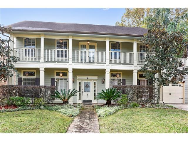 2 Tudor Lane, River Ridge, LA 70123 (MLS #2133631) :: Turner Real Estate Group