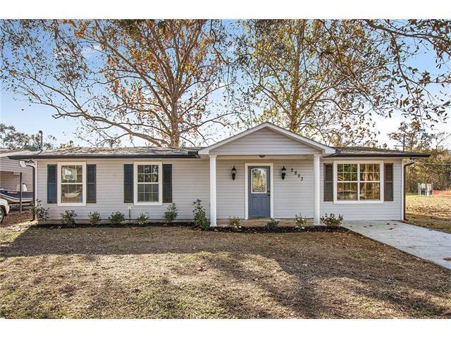 2803 Riverbend Drive, Violet, LA 70092 (MLS #2134734) :: Parkway Realty