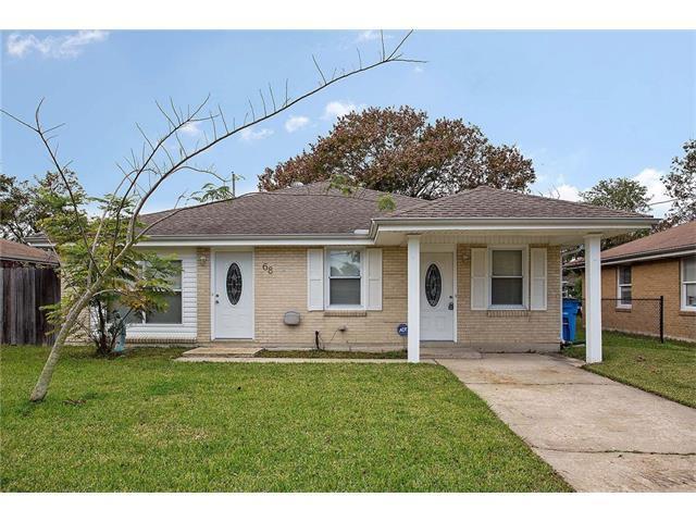 68 Thornton Drive, Chalmette, LA 70043 (MLS #2134737) :: Amanda Miller Realty