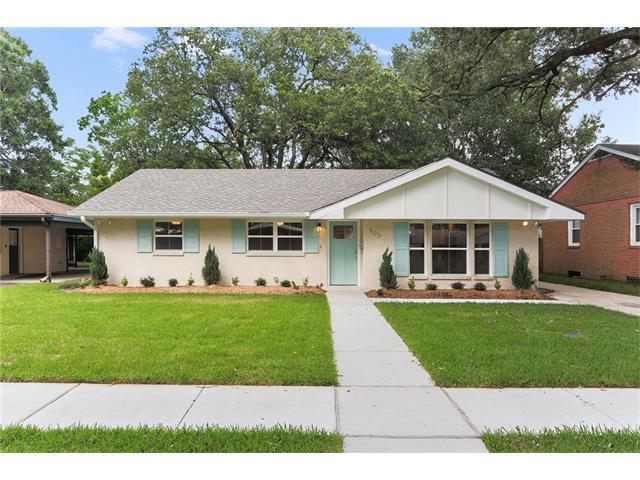 503 Marguerite Road, Metairie, LA 70003 (MLS #2137885) :: Turner Real Estate Group