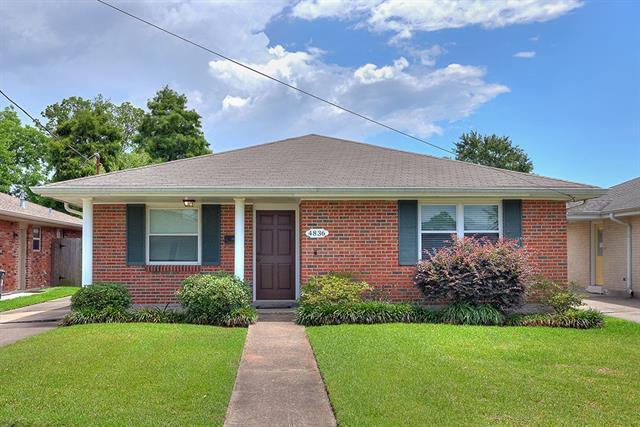 4836 Ithaca Street, Metairie, LA 70006 (MLS #2155979) :: Crescent City Living LLC
