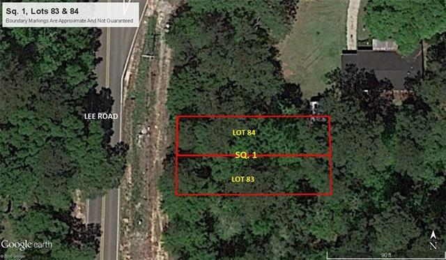 Lot 83 & 84 Lee Road, Covington, LA 70433 (MLS #2157244) :: Watermark Realty LLC
