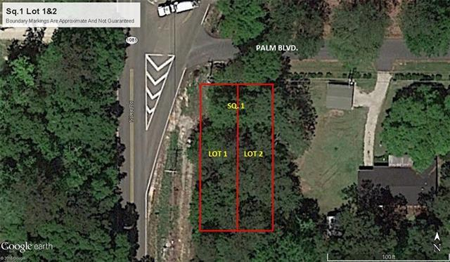 Lot 1&2 Palm Boulevard, Covington, LA 70433 (MLS #2157246) :: Watermark Realty LLC