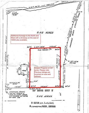 13635 Burgess Avenue, Walker, LA 70785 (MLS #2157917) :: Robin Realty