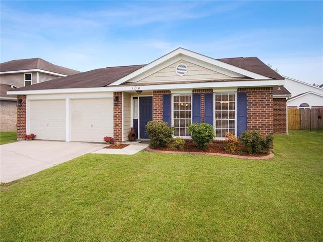 104 Honeywood Drive, Slidell, LA 70461 (MLS #2161798) :: Turner Real Estate Group