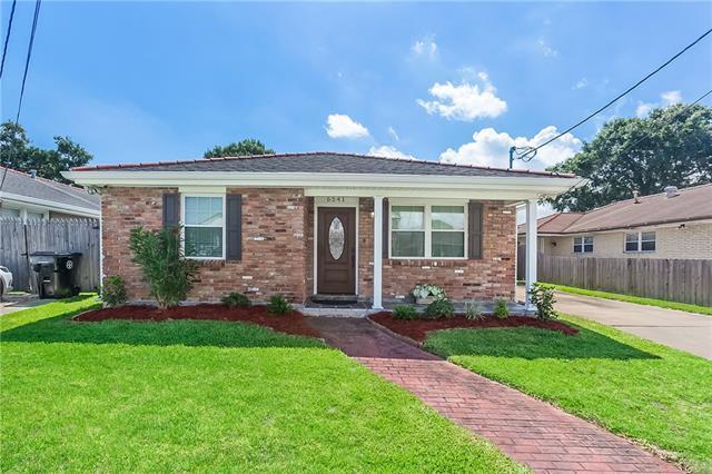 6541 Avenue A, New Orleans, LA 70124 (MLS #2163325) :: Turner Real Estate Group