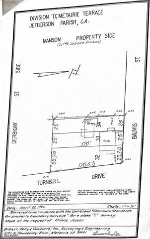 312 N Turnbull Drive, Metairie, LA 70001 (MLS #2175050) :: Parkway Realty