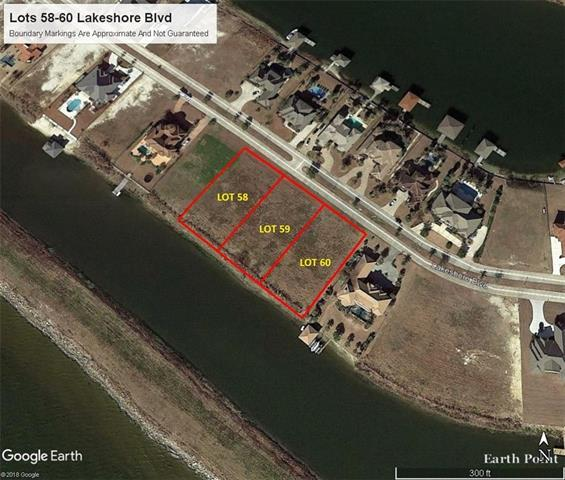 Lot 58-60 Lakeshore Boulevard, Slidell, LA 70461 (MLS #2176748) :: Parkway Realty