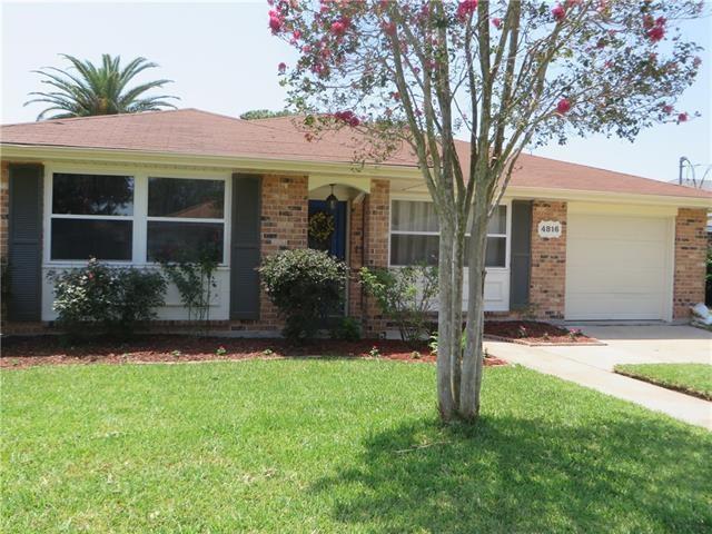 4816 Senac Drive, Metairie, LA 70003 (MLS #2181060) :: Turner Real Estate Group