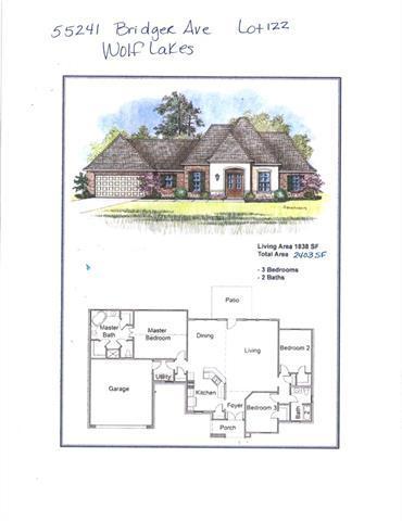 55241 Bridger Avenue, Loranger, LA 70446 (MLS #2183777) :: Crescent City Living LLC