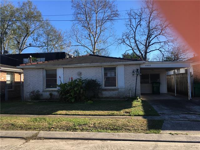 4408 Ellen Street, Jefferson, LA 70121 (MLS #2186965) :: Crescent City Living LLC