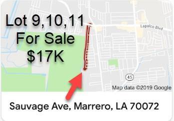 Sauvage Drive, Marrero, LA 70072 (MLS #2188726) :: Crescent City Living LLC