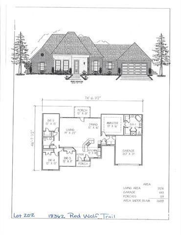 18362 Red Wolf Trail, Loranger, LA 70446 (MLS #2189986) :: Inhab Real Estate