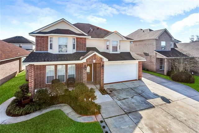 1281 Krupp Drive, Marrero, LA 70072 (MLS #2191487) :: Crescent City Living LLC