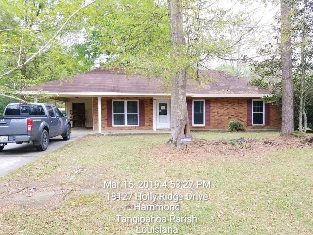 18127 Holly Ridge Drive, Hammond, LA 70403 (MLS #2197827) :: Parkway Realty