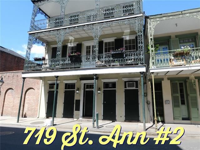 719 St Ann Street #2, New Orleans, LA 70116 (MLS #2199406) :: Inhab Real Estate