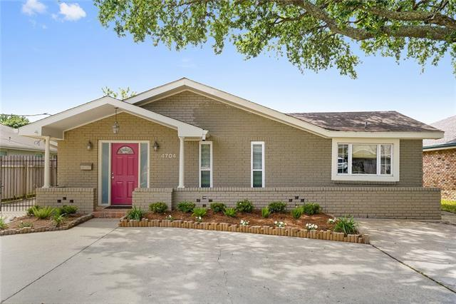 4704 Shores Drive, Metairie, LA 70006 (MLS #2200324) :: The Sibley Group