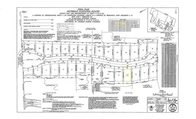 166 Audubon Place, Destrehan, LA 70047 (MLS #2201100) :: Crescent City Living LLC
