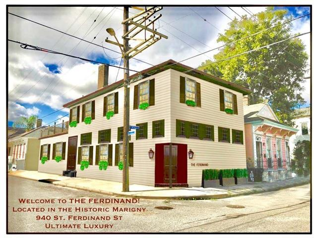 940 St Ferdinand Street #101, New Orleans, LA 70117 (MLS #2204005) :: Inhab Real Estate