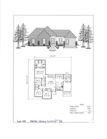 18195 Grey Wolf Trail, Loranger, LA 70446 (MLS #2204110) :: Turner Real Estate Group