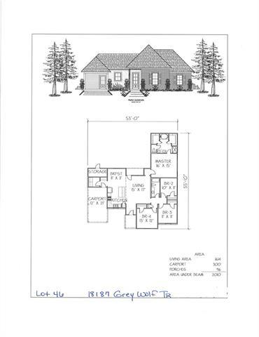 18187 Grey Wolf Trail, Loranger, LA 70446 (MLS #2204117) :: Turner Real Estate Group