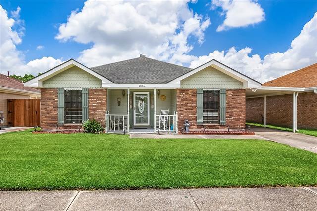 2836 Doreen Lane, Marrero, LA 70072 (MLS #2204806) :: Turner Real Estate Group