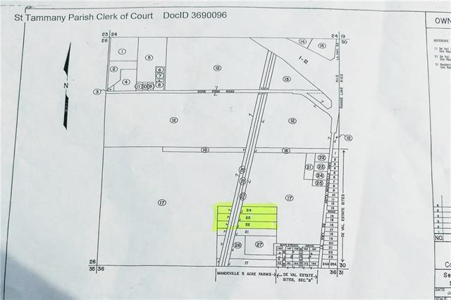 Hwy 59 (Off Hwy 59) A Highway, Mandeville, LA 70471 (MLS #2204960) :: Turner Real Estate Group