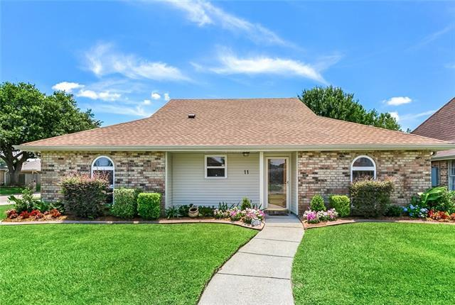 11 N. Lafourche Court, Kenner, LA 70065 (MLS #2208246) :: Parkway Realty