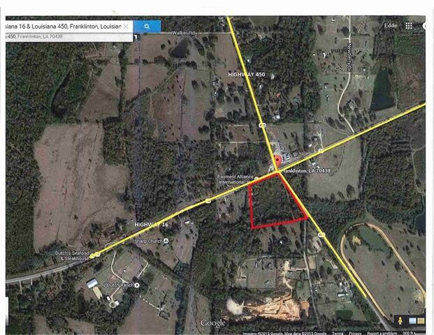 Hwy 16 & Hwy 450 Corner Highway, Franklinton, LA 70438 (MLS #2209467) :: Top Agent Realty