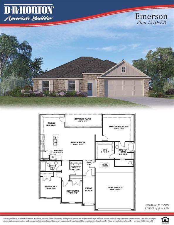 19484 Providence Ridge Boulevard, Hammond, LA 70403 (MLS #2229092) :: Reese & Co. Real Estate